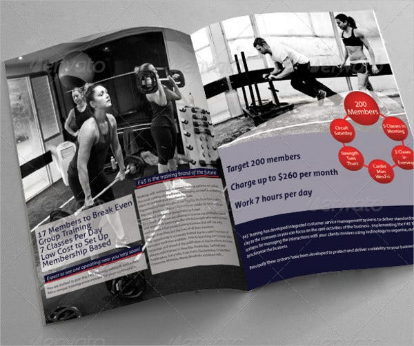 fitness training brochure1