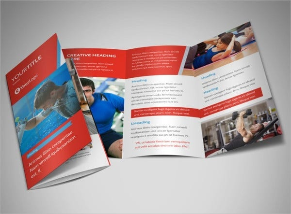fitness center brochure1