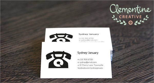 free printable diy business card1