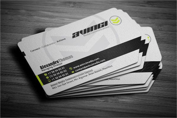 Diy Die Cut Business Card