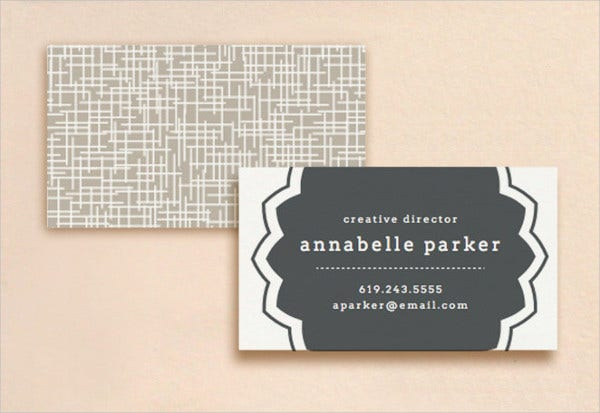 Diy Embossed Business Card