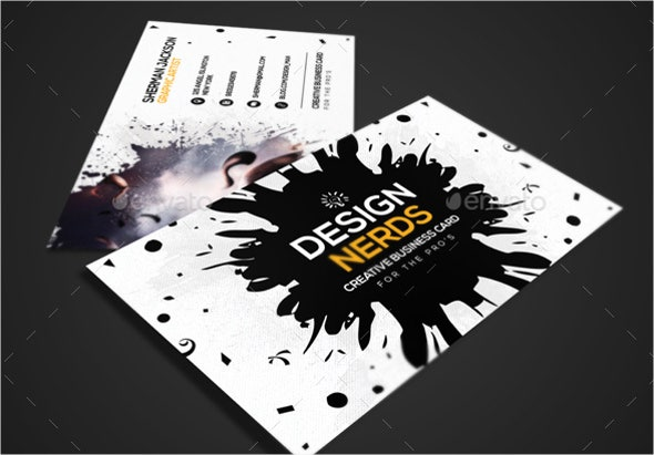 12  graphic design business card templates