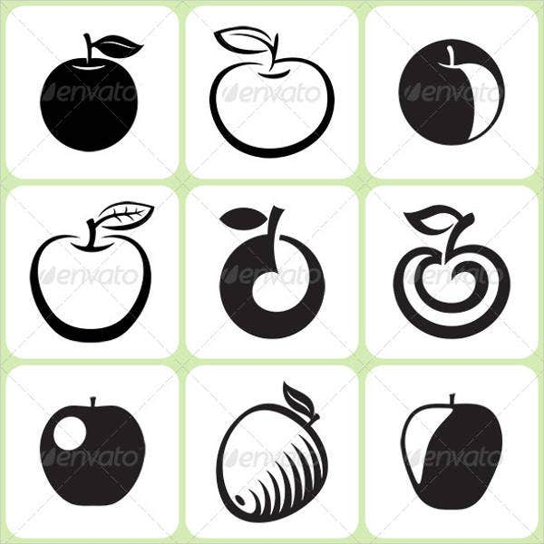 apple-fruit-icons