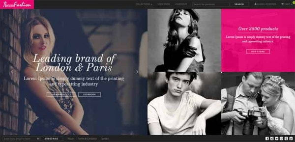 fashion shop free bootstrap template min