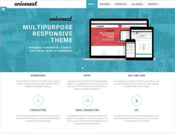 free business ecommerce bootstrap website template