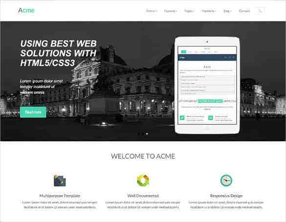 free responsive corporate business bootstrap template min