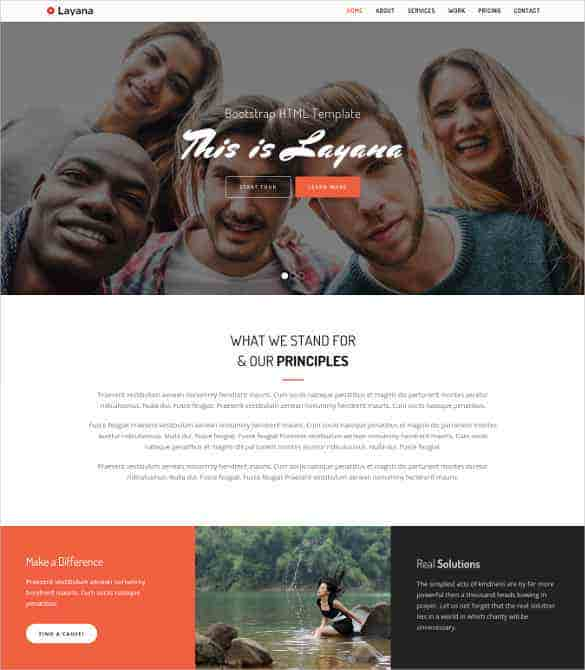 free responsive project html bootstrap template min