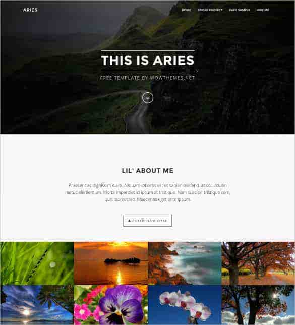 free resposnive perfect html bootstrap template min