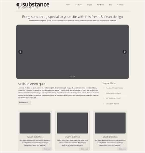 free simple multi purpose bootstrap website template