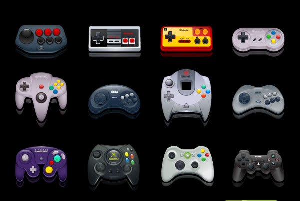 gaming icons pack free download