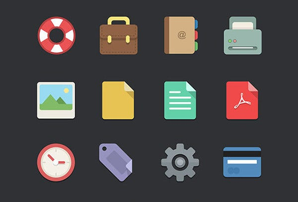 free flat icon packs