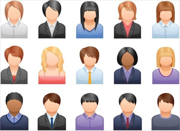 Free Vector Person Icons