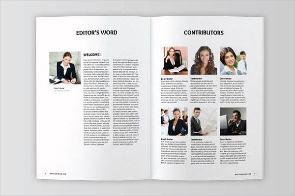 Multipurpose Corporate Magazine Template