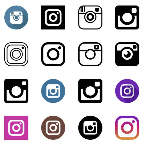 black-and-white-instagram-icons