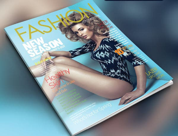 Fashion Magazine Free PSD Template