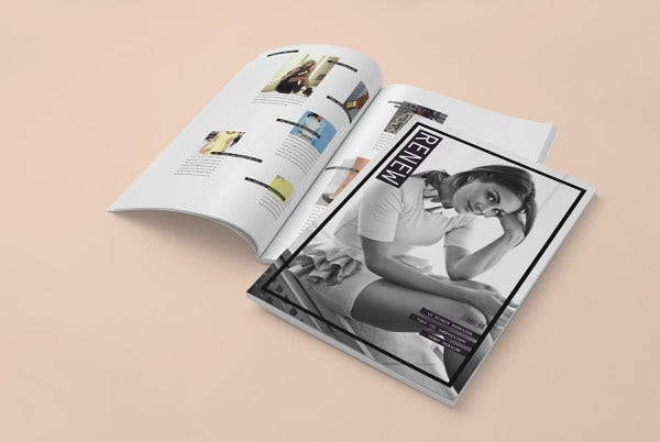 Fashion InDesign Magazine Template