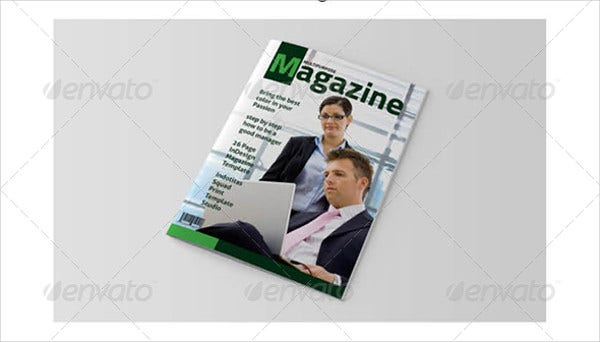 Corporate InDesign Magazine Template