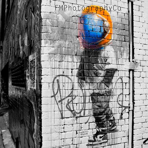 graffiti street photography