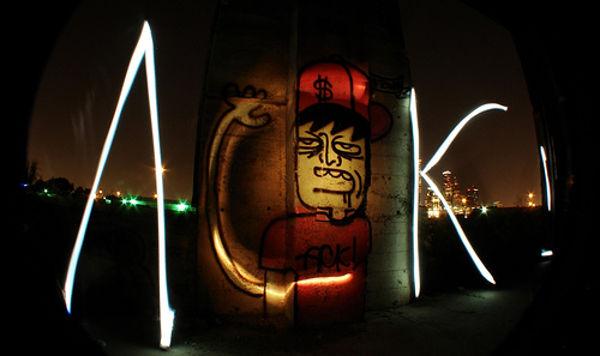 light graffiti photography