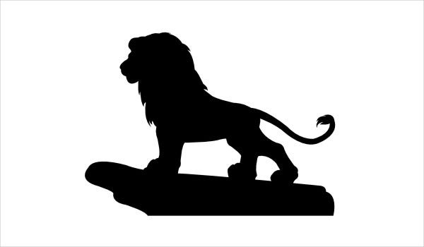 Lion King Silhouette