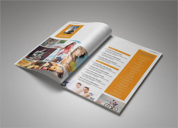 Professional Corporate Magazine Template