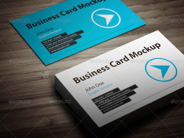 actions pack business card mockup
