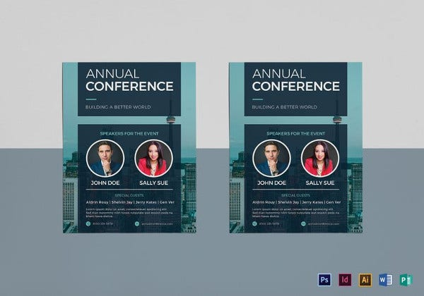 Conference Flyers  Free Psd Vector Ai Eps Format Download