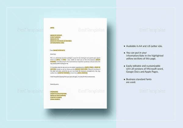 apology-letter-for-missing-appointment-template