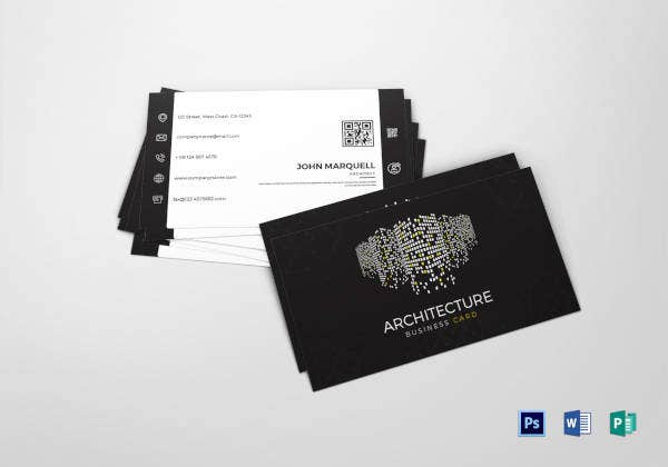 architect-business-card-template
