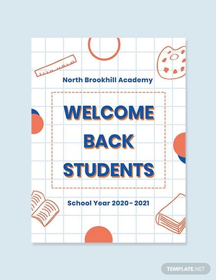 back to school poster template1