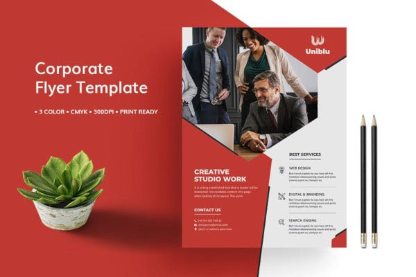 banner multipurpose flyer template