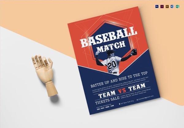 baseball-match-flyer-template