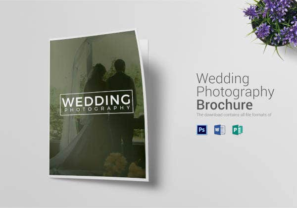 wedding photography brochure template.html