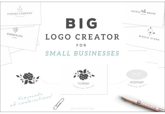 big logo creator for small business