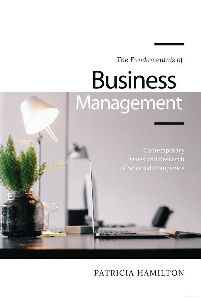 Business Management Book Cover