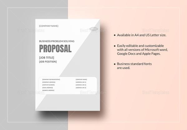 microsoft business proposal template