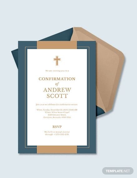 9+ Confirmation Invitation Templates - PSD, AI, EPS | Free