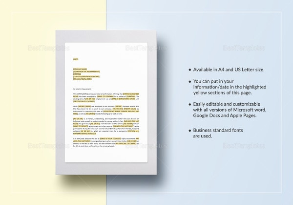 confirmation-of-employment-and-letter-of-recommendation-template