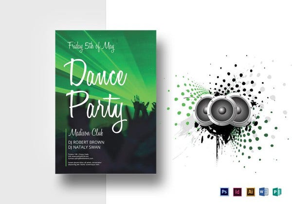 dance-party-flyer-template
