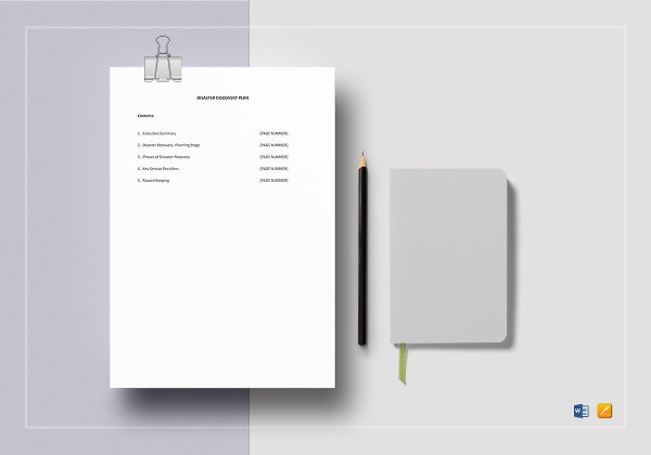 disaster-recovery-plan-template-to-print