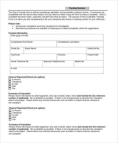 disciplinary action tracking form