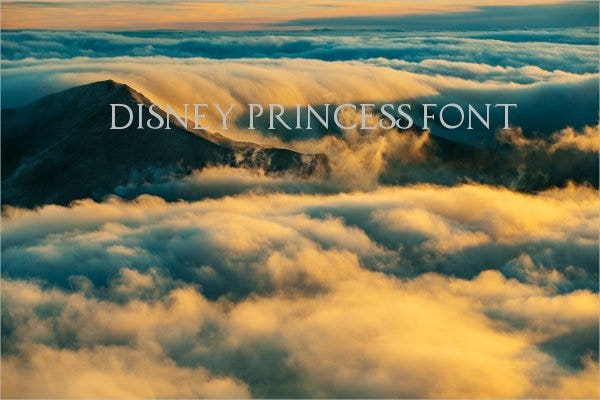 disney-princess-font