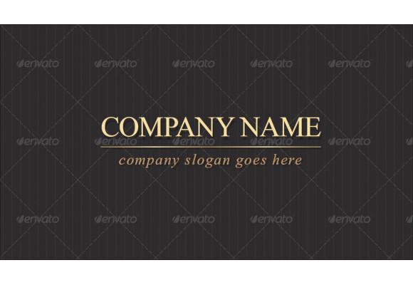 elegant company business card1
