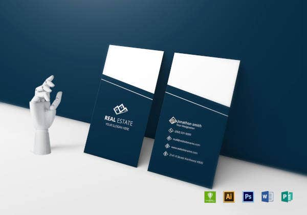 13 realtor business card template indesign ai psd ms word