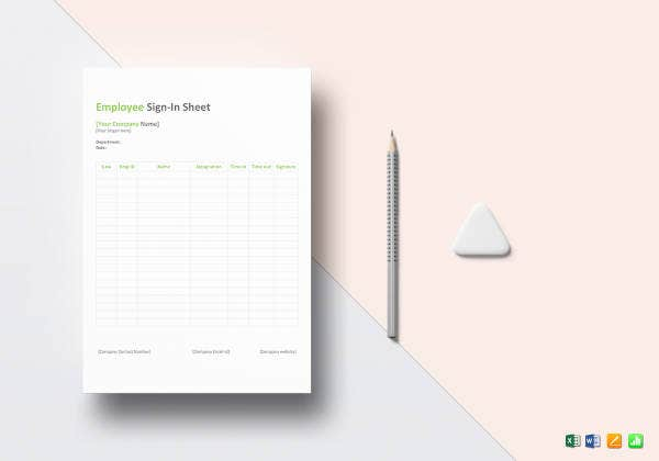employee sign in sheet template1