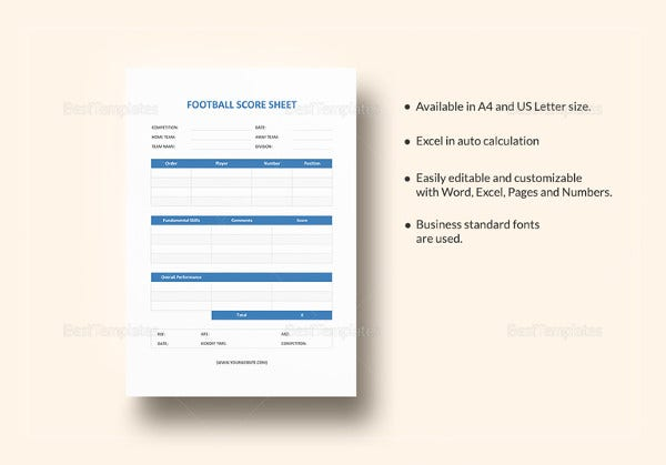 football-score-sheet-template
