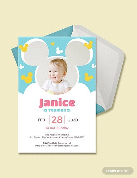 free disney invitation template1