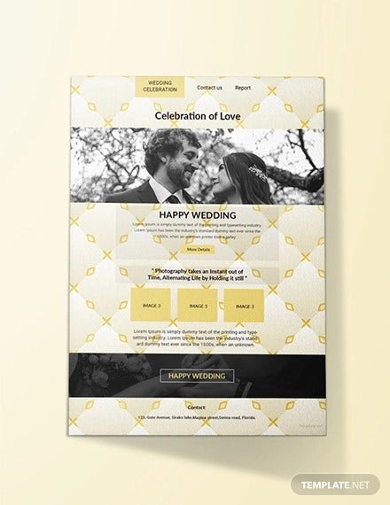 free email wedding invitation template