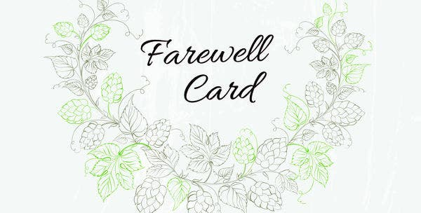 6 free farewell card templates invitation graduation free free farewell invitation card maxwellsz