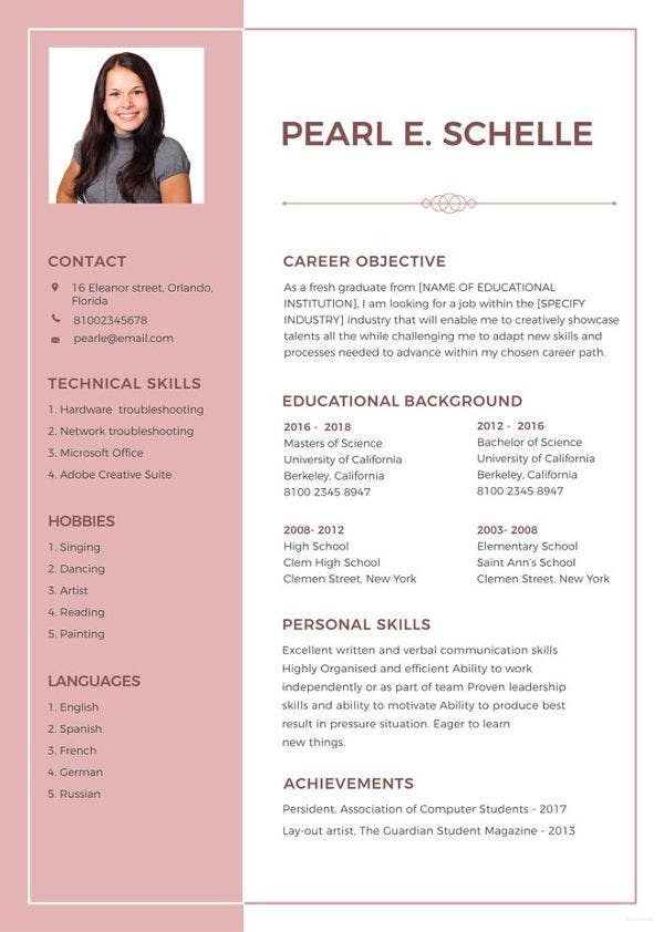 10 High School Student Resume Templates Pdf Doc Free Premium. Free High School Resume Template. Resume. High School Student Resume At Quickblog.org